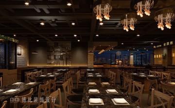 音乐餐厅效果图制作