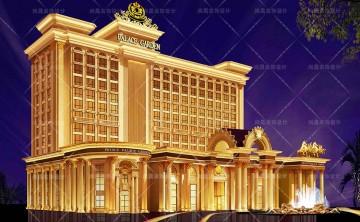 酒店建筑外观设计图