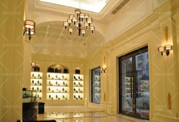 台州CORNEEHCS鞋业展厅装修实景图