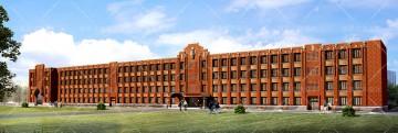 上海华东师范大学物理大楼改造效果图
