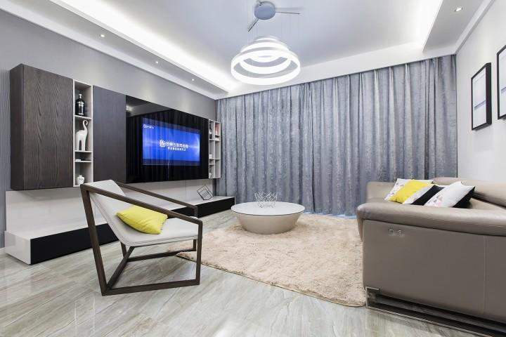 清新现代简约风格新房装修效果图