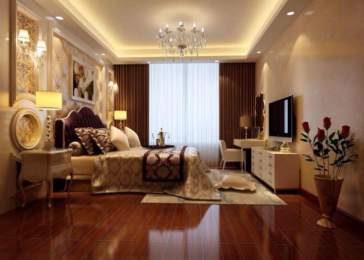 里维埃拉105方欧式风格三居室全包20万