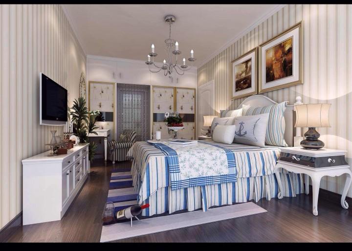 东方润园3居室120方12万半包现代风格
