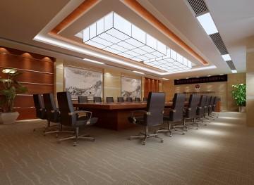 德阳公安会议室装修效果图