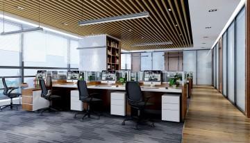 聚阳科技办公室装修效果图