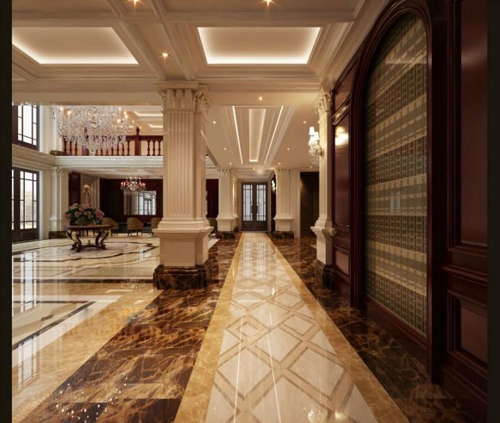 欧式售楼中心装修设计图片