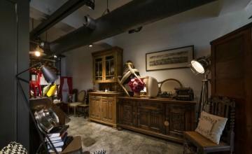 复古欧式混搭时尚家庭式办公室装修