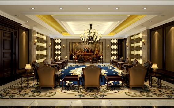 果洲一号酒店装修设计图片