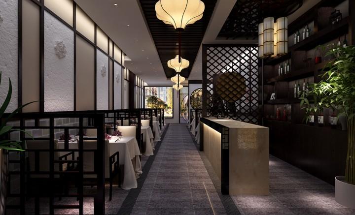 中式火锅店装修设计图片