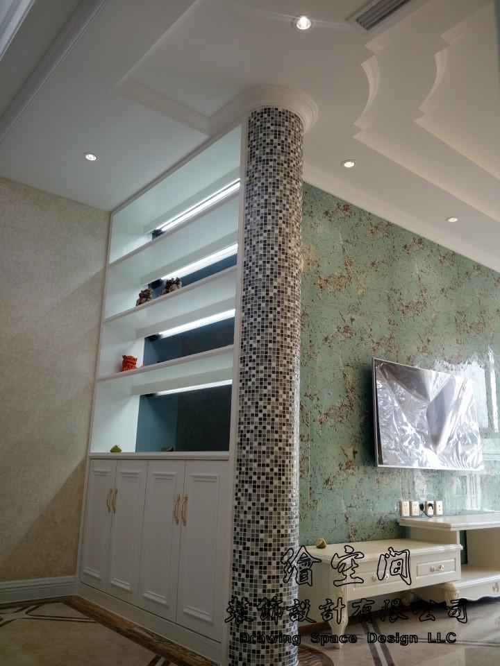两居室欧式混搭风格效果图欣赏