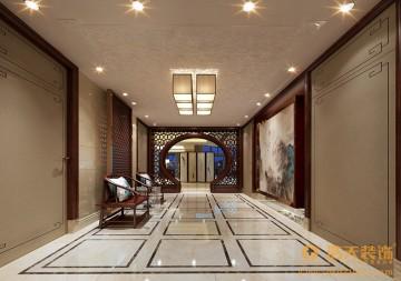 美佳華首譽四室兩廳中式主義設計風格效果圖
