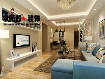 二居室現代簡約設計效果圖欣賞