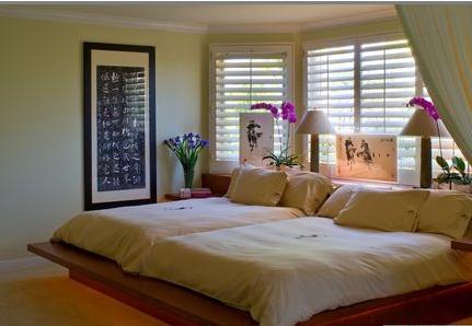 汇银帝景湾日式卧室风格效果图
