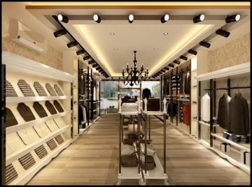 现代简约风格服装店装修设计方案