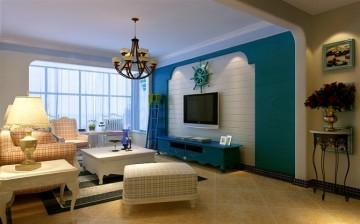 三居室地中海风格设计效果图欣赏