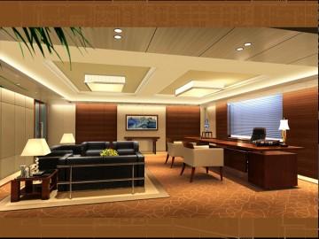 天印办公设备公司办公室装修案例2