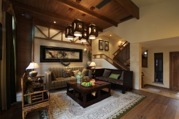 别墅田园风格设计效 ...