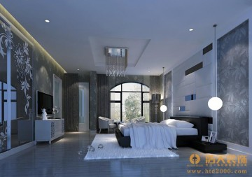 合正荣悦三居室现代简约设计效果图