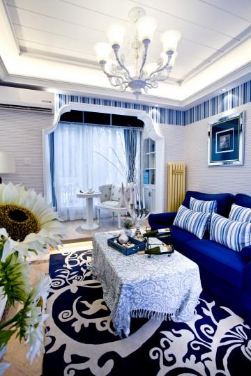 两居室地中海风格设计效果图