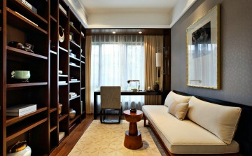四居室中式風格設計效果圖