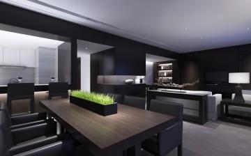 三室两厅现代简约风格设计效果图