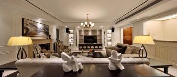四居室欧式风格设计效果图