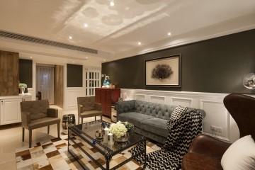 三居室欧式古典风格设计效果图