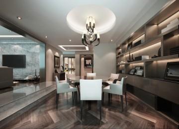 二居室后现代风格设 ...