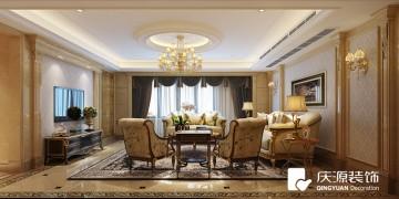 风荷苑三居室东南亚风格设计效果图案例欣赏