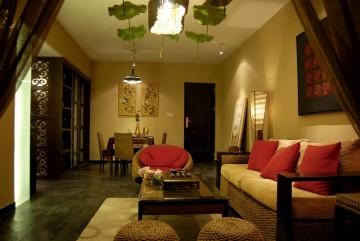 兩居室小戶型中式風格實景案例圖
