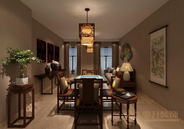中式茶楼装修设计效果图欣赏