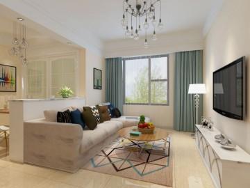三居室田园风格设计效果图欣赏
