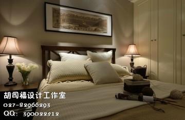 福星城北美兩居室100平美式風格設計效果圖