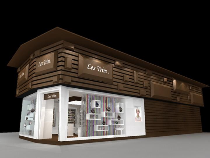 Les strim带之尊丝带专卖店设计效果图