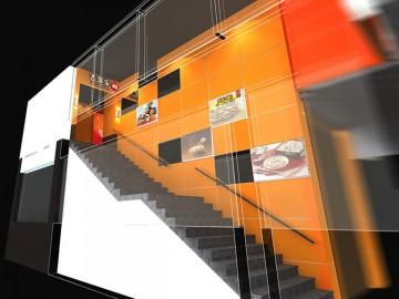 Yoshinoya吉野家餐饮设计效果图