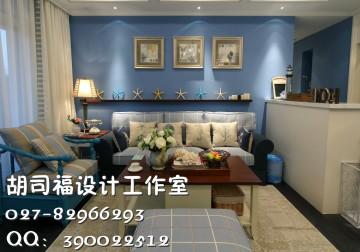 金桥汇地中海两居室89平风格设计效果图
