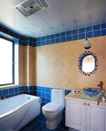 三室两厅家装地中海风格设计效果图欣赏