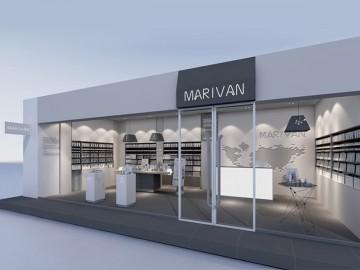 Marivan美蘭坊藥妝專賣店設計效果圖
