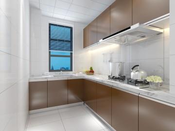 雅搏園現代三居室家裝現代簡約風格設計效果圖