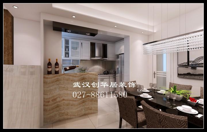 中电尊荣国际三居室家装现代简约风格设计效果图
