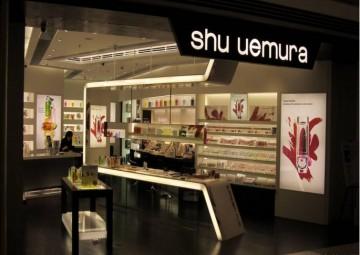 化妆品专卖店装修设计效果图