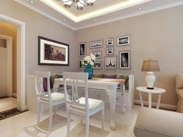 石门苑三居室家装简约风格室内装修效果图