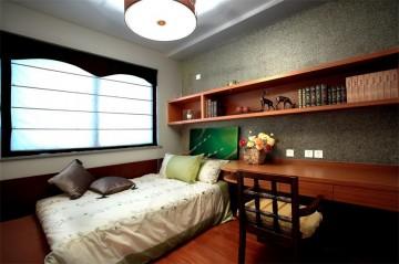 南湖东园三居室家装东南亚装修风格案例