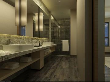 常德澧县酒店装修设计效果图案例欣赏