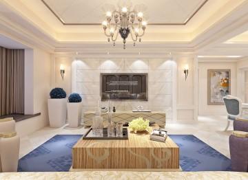 龙光城三居室家装北欧风格设计效果图