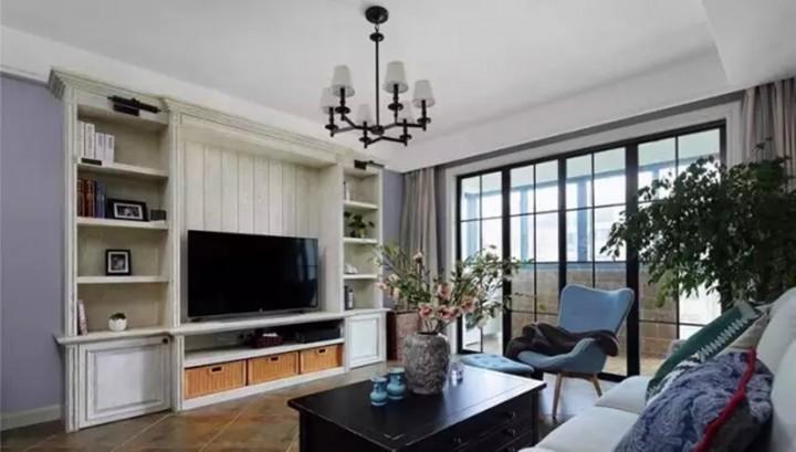 碧桂园118平三居室美式设计风格效果图
