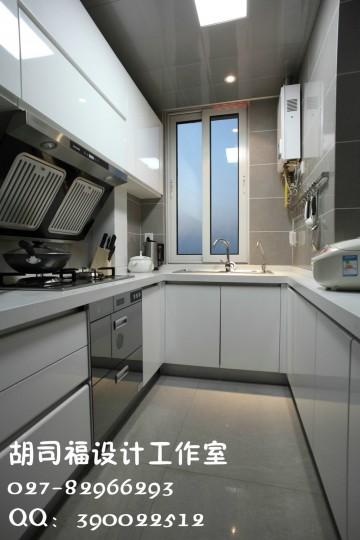 星悦城现代三居室135平装修设计效果图
