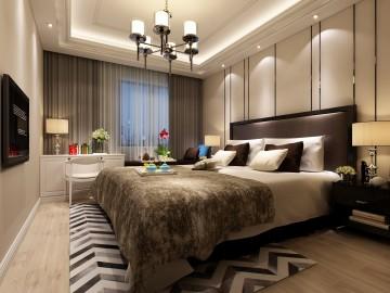 龙盛首府四居室现代风格设计效果图欣赏