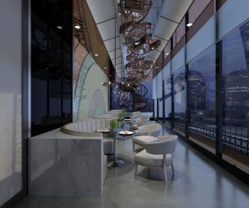 太姥山酒店自助餐桌
