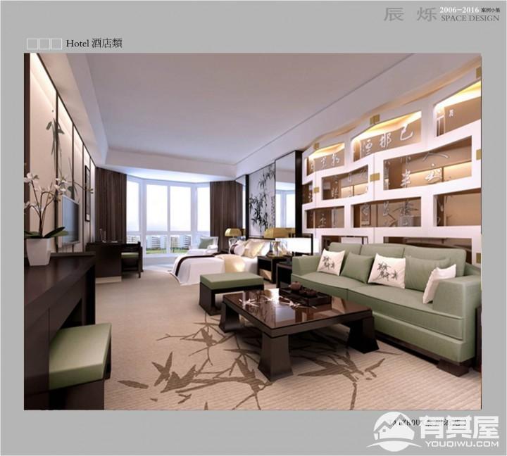 酒店豪华装修设计效果图案例欣赏
